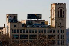 "As my novel ""Hometown News"" demonstrates, the Rust Belt wasn't all big cities. (Crosley Building. Cincinnati, Ohio)"