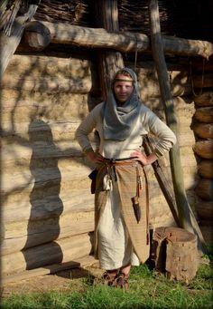 Early medieval garment - Slavs / modern-day Czech Republic