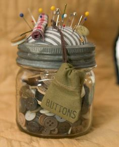 Just for buttons. Thanks to Gold Mountain Mercantile on FACEBOOK. #buttonlovers