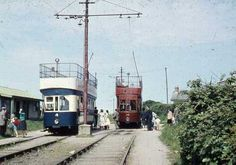 Howth Tram 1950s | MajorCalloway | Flickr Dublin Street, Dublin City, Dublin Ireland, Ireland Travel, Old Pictures, Old Photos, Buses And Trains, Public Transport, Northern Ireland
