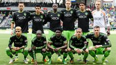 Seattle Sounders 2014 Starting lineup (April 6th, 2014) @ Portland | Clint Dempsy, Gonzalo Pineda, Jalil Anibaba, Chad Marshall, Leo Gonzalez, Stefan Frei, DeAndre Yedlin, Michael Azira, Obafemi Martins, Osvaldo Alonso and Kenny Cooper