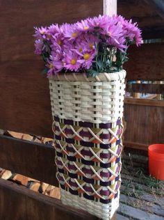 Flower Tower Basket   Jill Choate Basketry - J Choate Basketry