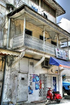 The charm of Stone Town represents the heart and soul of Zanzibar http://www.augustuscollection.com/stone-town-zanzibar/