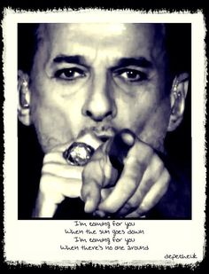 Dave Gahan poster art <<< Soothe My Soul is such a GREAT song, it sounds so good #DeltaMachine #DepecheMode