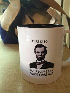 I expect this mug when I become a teacher.