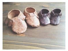Little Leather Moccasin Tutorial and Free Pattern