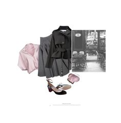 """""""De Nuit / By Night"""" by halfmoonrun ❤ liked on Polyvore featuring Vionnet, Rochas, Paco Rabanne, ZukieStyle and WALL"""