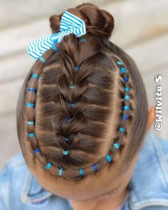 little-girl-hairstyles - Fab New Hairstyle 2 Childrens Hairstyles, Cute Little Girl Hairstyles, Girls Natural Hairstyles, Baby Girl Hairstyles, Braided Hairstyles, Cool Hairstyles, Curly Hair Styles, Natural Hair Styles, Girl Hair Dos