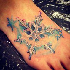 Snowflake foot