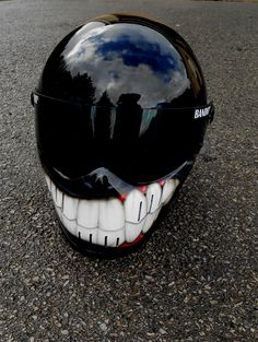 bandit helmet airbrush