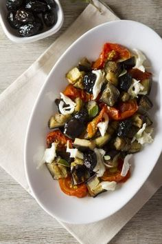 New soup veggie cuisine ideas Greek Recipes, Vegetable Recipes, Vegetarian Recipes, Healthy Recipes, Healthy Salads, Healthy Cooking, Cooking Recipes, Feta, How To Grill Steak