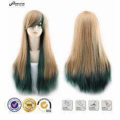 $9.49 (Buy here: https://alitems.com/g/1e8d114494ebda23ff8b16525dc3e8/?i=5&ulp=https%3A%2F%2Fwww.aliexpress.com%2Fitem%2FHarajuku-Blonde-to-Green-Ombre-Wig-Pelucas-Pelo-Straight-Natural-Synthetic-Wigs-Heat-Resistant-Perruque-Anime%2F32665620062.html ) Harajuku Blonde to Green Ombre Wig Pelucas Pelo Straight Natural Synthetic Wigs Heat Resistant Perruque Anime Cosplay Wigs for just $9.49