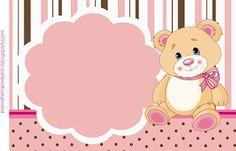 Ursinha (marrom e rosa)