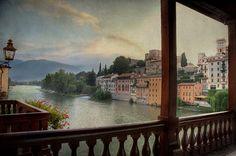 .Bassano del Grappa, Italy  (by Franco Ferri Mala)    I live near here :)