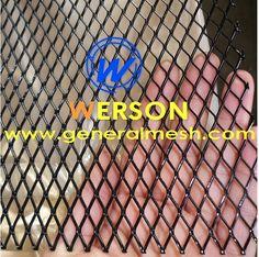Universal Auto Aluminium Honeycomb Front Bumper Mesh Grille 120 x 30cm  E-mail: sales@generalmesh.com