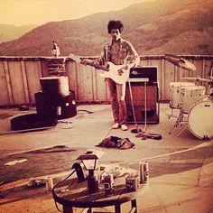 Jimi,Benedict Canyon'68