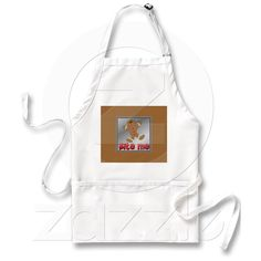 APRON BITE ME GINGERBREAD COOKIE CHRISTMAS from Zazzle.com  $19.95