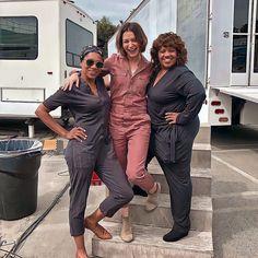Kelly Mccreary, Caterina Scorsone, Greys Anatomy Cast, Grey's Anatomy, Besties, Behind The Scenes, Amy, Tv Shows, Greys Anatomy