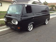 Custom '63 Ford Econoline Van