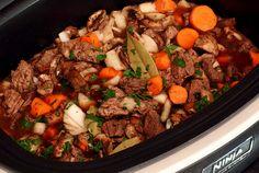 Slow Cooker Paleo Beef Stew #PaleoNewbie