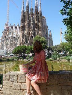 http://www.callmeliz.co.uk/2017/08/barcelona-style-diary.html  #sagradafamilia #architecture #barcelona #tourist #photo #fashionblogger #blogger #outfit #look #ootd #wiwt
