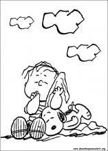 Disegni di Snoopy da colorare