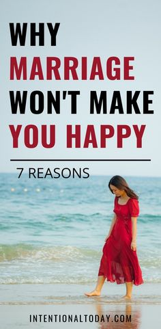 """It's important to evaluate the cost of a task before committing to it. Marriage is great but it is important to grasp the cost, the ruggedness and the """"ugly"""" parts. It's not just bliss. Here are 7 reasons why marriage won't make you happy. #marriageadvice #newlywedadvice #marriage #intentionaltoday #happymarriage #intentionalmarriage #satisfiedwife #countingcosts #discipleship"""