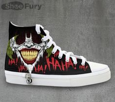fd89285c0 These Joker Sneakers Get The Last Laugh Moda