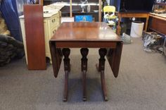 Vtg Duncan Phyfe Style Mahogany Drop Leaf Dining Table Georgetown Galleries<br/>Post-1950 - 156316