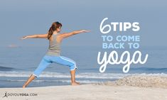 Despite our best intentions, we can all fall out of good habits. Here's a post that offers a few handy solutions to getting back into your yoga practice.