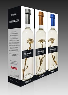 DISTILLERIE PISONI ITALY Brand Name & Packaging Design
