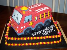 Best 25 Fire Truck Cakes Ideas On Pinterest Fire Engine