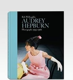 Audrey Hepburn: Photographs 1953-1966 - $70.00»  If you want to add some Audrey style to your home, this is the perfect book to leave on your coffee table or nightstand.