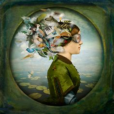 L'arte digitale di Maggie Taylor