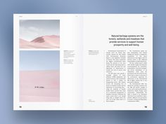 Climate and environment. Magazine spread designed by Maria Shanina. Connect with them on Dribbble; Editorial Design Layouts, Editorial Design Magazine, Magazine Layout Design, Book Design Layout, Print Layout, Book Cover Design, Magazine Design Inspiration, Magazine Layouts, Editorial Fashion