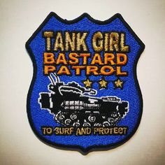 Image of Tank Girl Super Special (with Bastard Patrol Patch)