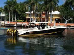 Hydra-Sports Open with Quad Seven Marine 557s.