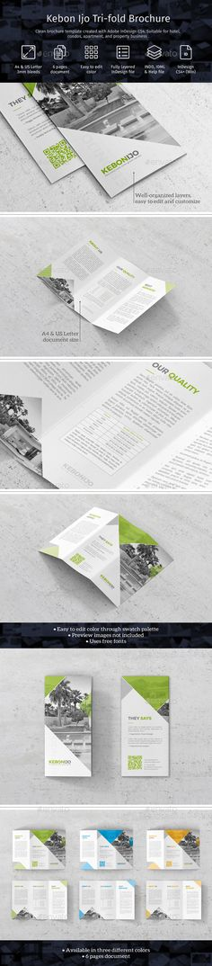 74 Best Corporate Tri Fold Images On Pinterest Tri Fold Brochure