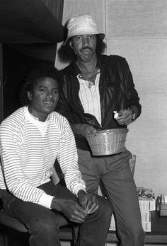 Michael Jackson & Lionel Richie