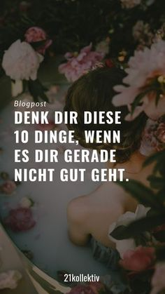 Es kann schnell passieren, dass negative Gedanken in deinen Kopf einschleichen. … It can quickly happen that negative thoughts creep into your head. If that happens, these 10 affirmations are guaranteed to help. Positive Mindset, Positive Vibes, Better Life, Feel Better, Salud Natural, Health Pictures, Psychology Facts, Negative Thoughts, No Time For Me