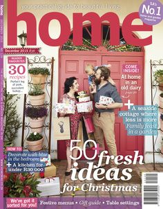 Our December issue is on shelves as from TODAY! More than 50 fresh ideas for Christmas – festive menus; an exciting gift guide; table settings and much much more. Make sure you don't miss out on this issue!