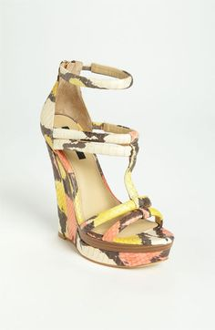I want this! But at $395, don't think so :( Rachel Zoe 'Katia' Wedge | Nordstrom
