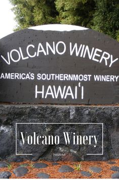 Hawaii Big Island Things to Do: Volcano Winery. Visit the Volcano Winery near Hawaii Volcanoes National Park is the perfect spot to stop and taste wine (and teas) with some nibbles. Hawaii Honeymoon, Hawaii Vacation, Hawaii Travel, Vacation Ideas, Italy Vacation, Hawaii Volcanoes National Park, Volcano National Park, Kona Hawaii, Hawaii Life