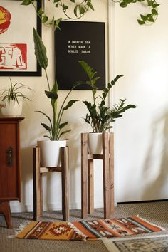 Hey, I found this really awesome Etsy listing at https://www.etsy.com/listing/290942875/mid-century-modern-plant-stand-mid