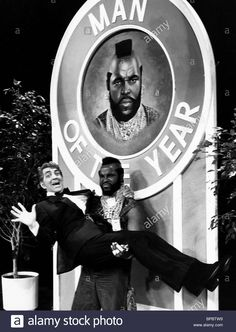 Download this stock image: DEAN MARTIN & MR T THE DEAN MARTIN CELEBRITY…