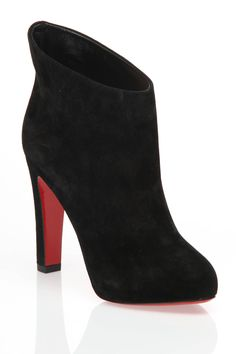Christian Louboutin KST Booties In Black - Beyond the Rack
