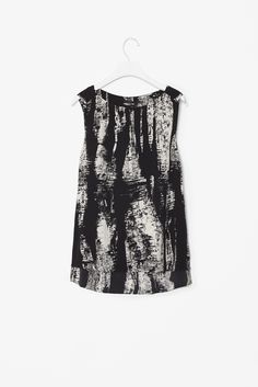 cos | abstract print top