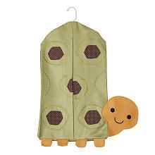 Turtle diaper stacker/ woodland creature nursery/ Lambs and Ivy Echo
