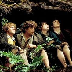 I think Sam is one of my favorite characters of all time..he NEVER gives up on Frodo or himself