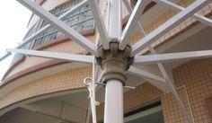 Aluminum Parasol without Tilt Tilt, Ceiling Fan, Design, Ceiling Fans